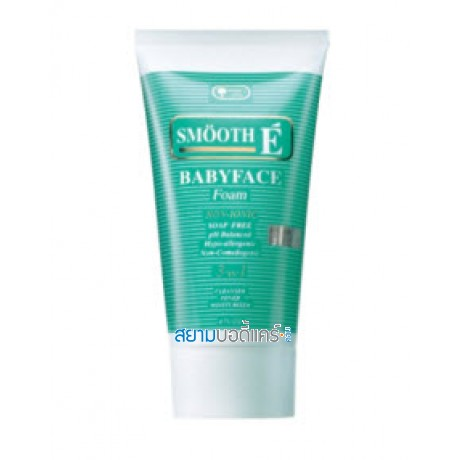 Smooth E Baby Face Foam 4 Oz.